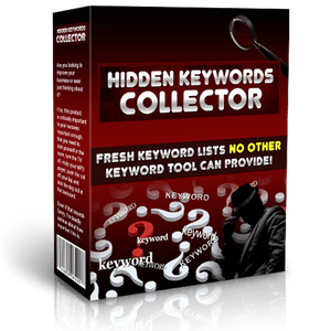 Hidden Keywords Collector Software